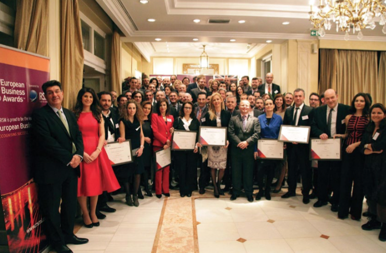 Aqurance National Champion in the European Business Awards 2014:15